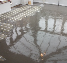 Stage 3 Latex Subfloor Laid